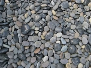 mexican beach gravel